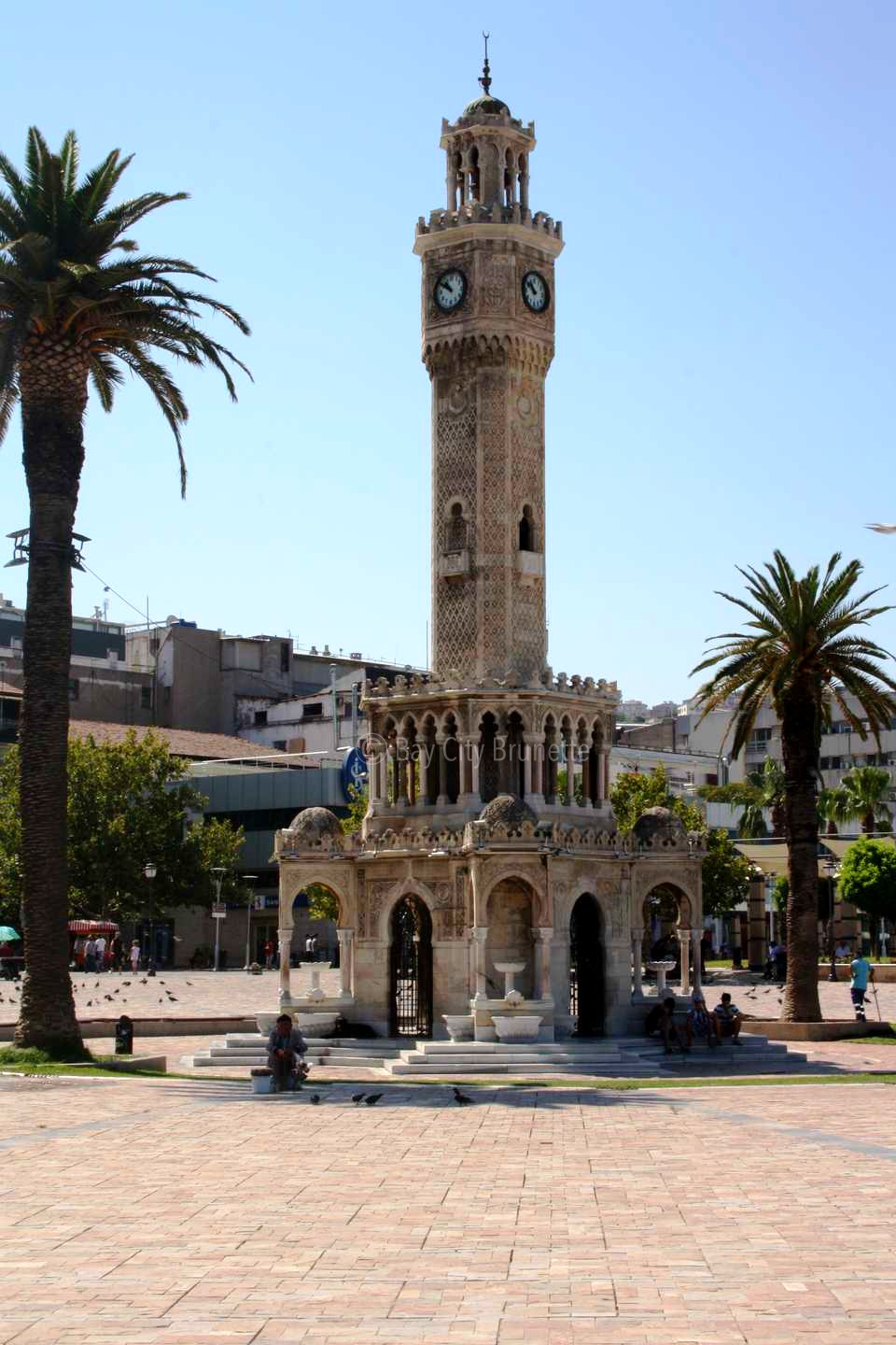 Izmir Tower Clock