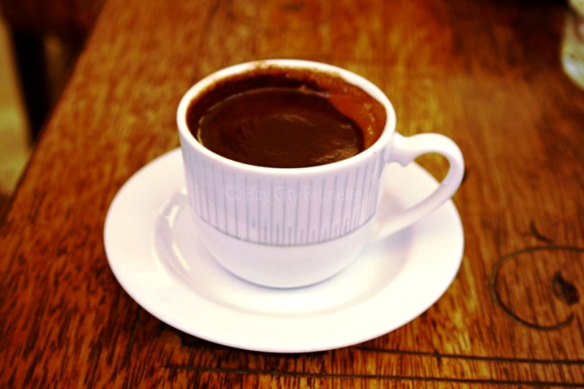 Turkish Coffee. Thick & Strong